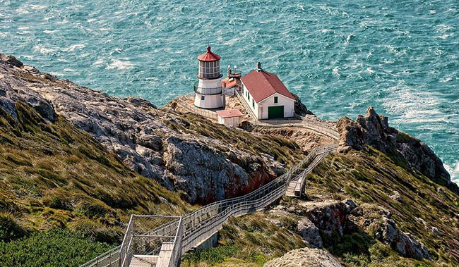Point Reyes Lighthouse, Marin County, California