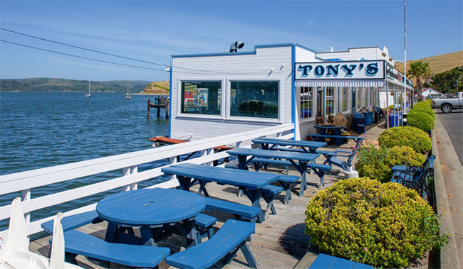 Tony's Seafood Restaurant, Tomales Bay, California