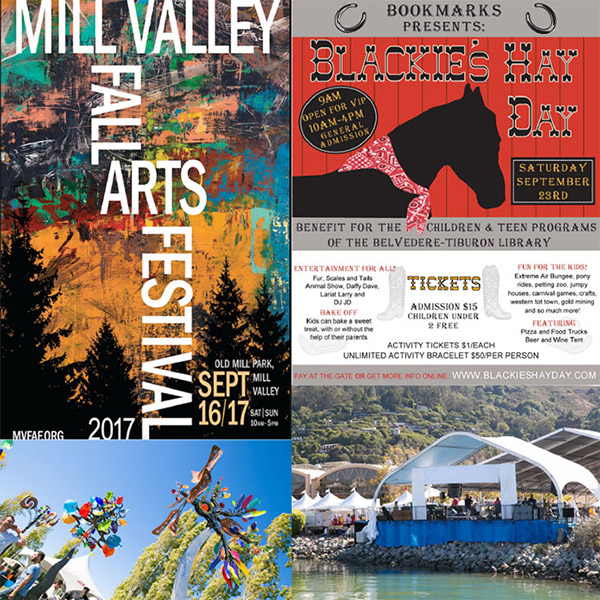 What to do in Marin - September 2017