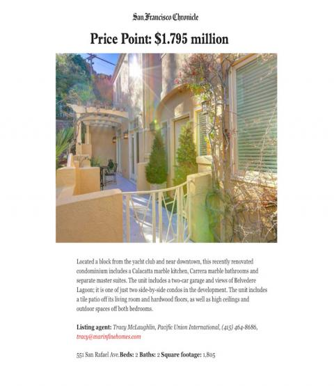Price Point: $1.795 million