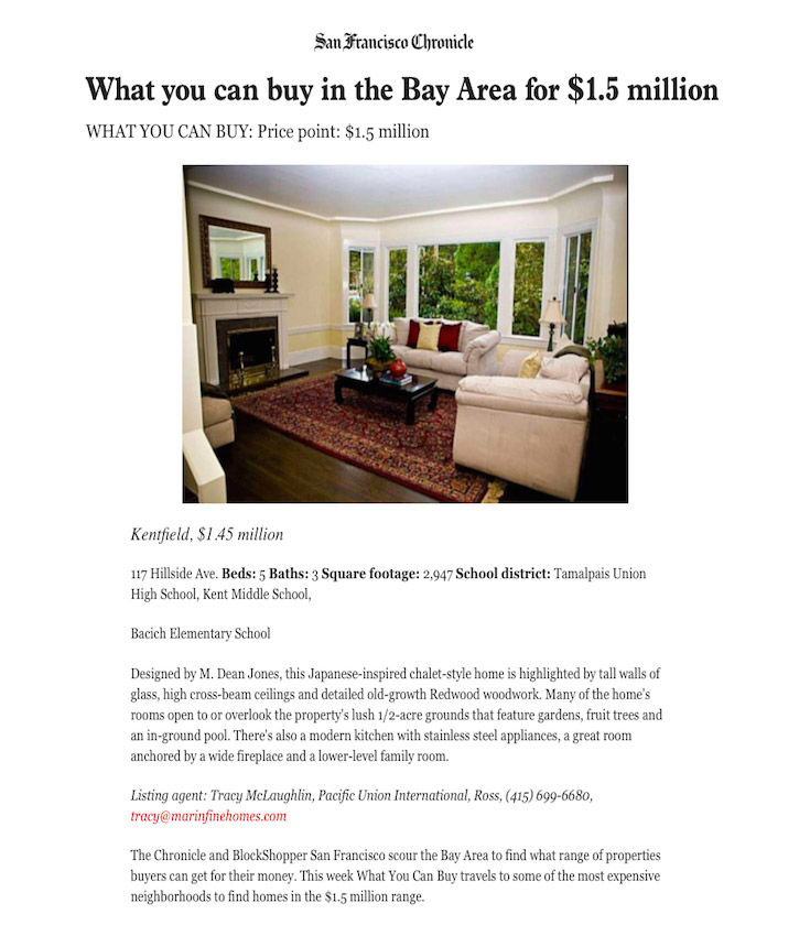 What you can buy in the Bay Area for $1.5 million