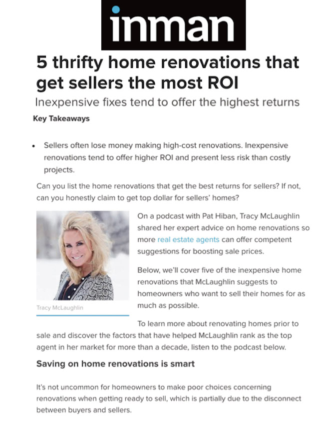 5 thrifty home renovations that get sellers the most ROI