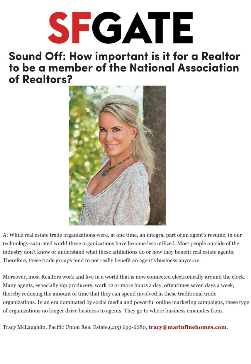 Sound Off: How important is it for a Realtor to be a member of the National Association of Realtors?