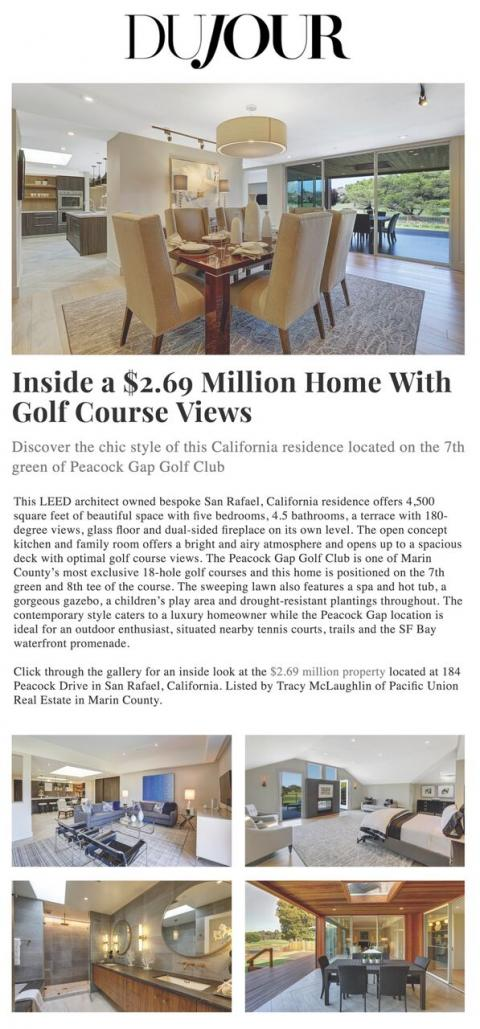 Inside a $2.69 Million Home With Golf Course Views