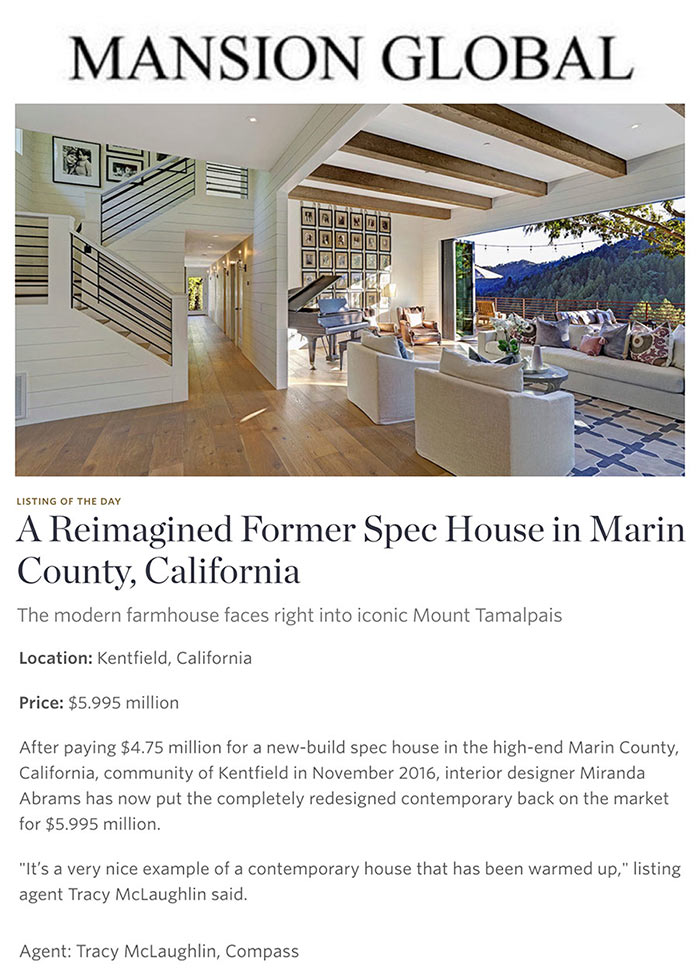 A Reimagined Former Spec House in Marin County, California