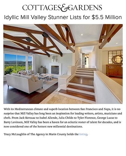 Idyllic Mill Valley Stunner Lists for $5.5 Million