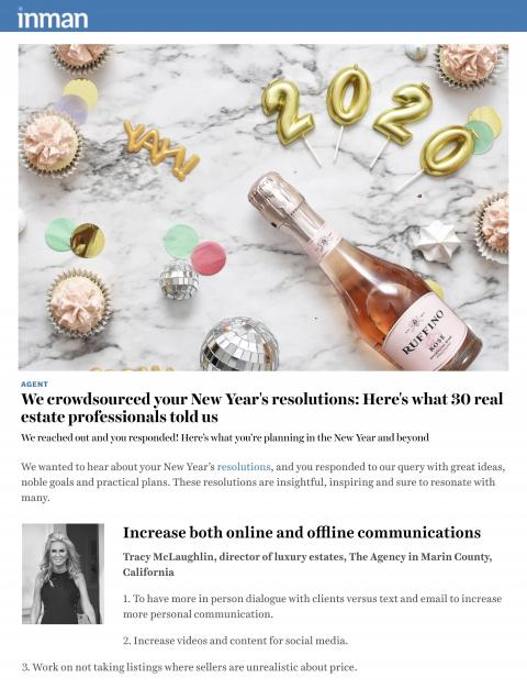 We crowdsourced your New Year's resolutions: Here's what 30 real estate professionals told us