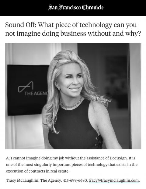 Sound Off: What piece of technology can you not imagine doing business without and why?